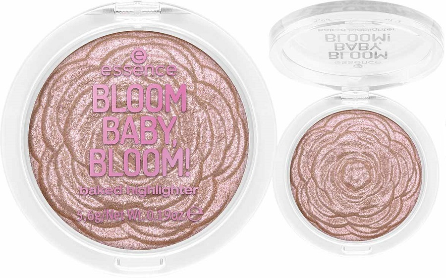 Essence Cosmetics Bloom Baby, Bloom! Baked Highlighter DAISY ME GLOWING
