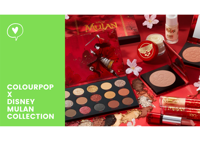 Colourpop x Disney Mulan Makeup Collection