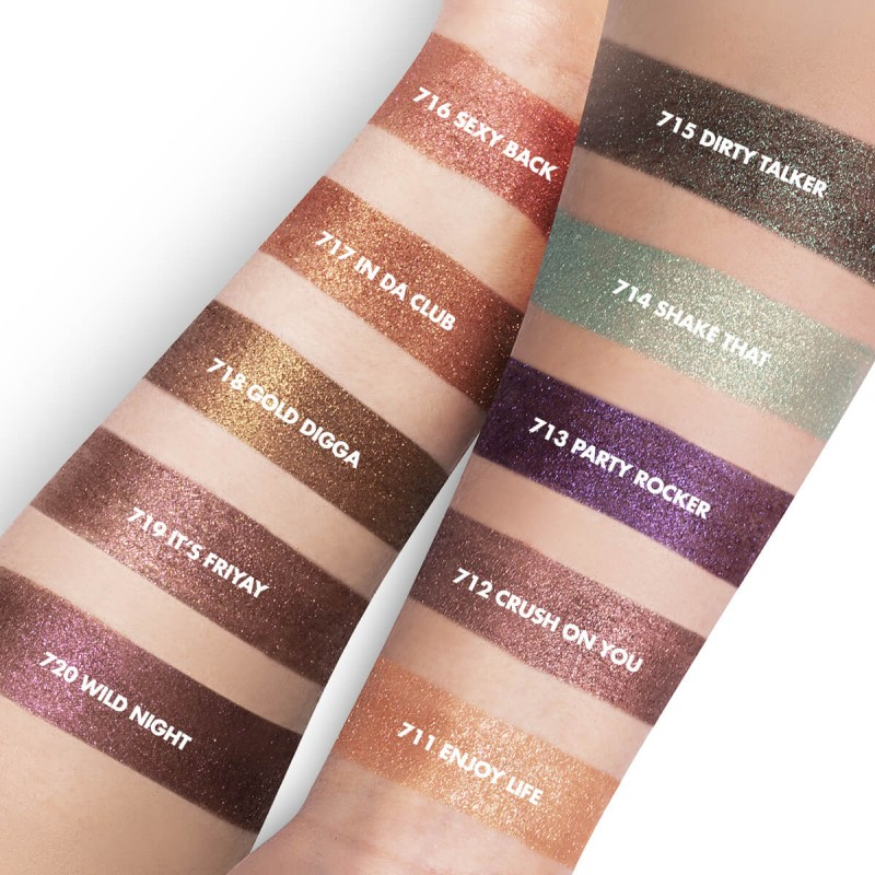 свотчи Inglot Freedom System Palette Partylicious 2.0