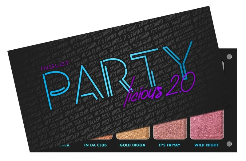 Inglot Cosmetics Freedom System Palette Partylicious 2.0