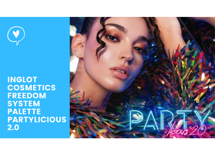 Inglot Cosmetics Freedom System Palette Partylicious